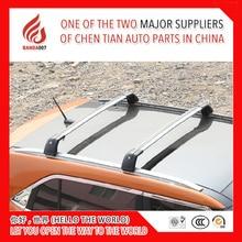 Высокое качество товаров нагрузки 1 пара цена алюминиевого сплава серебристого цвета крыши перекладина для Volvo V60