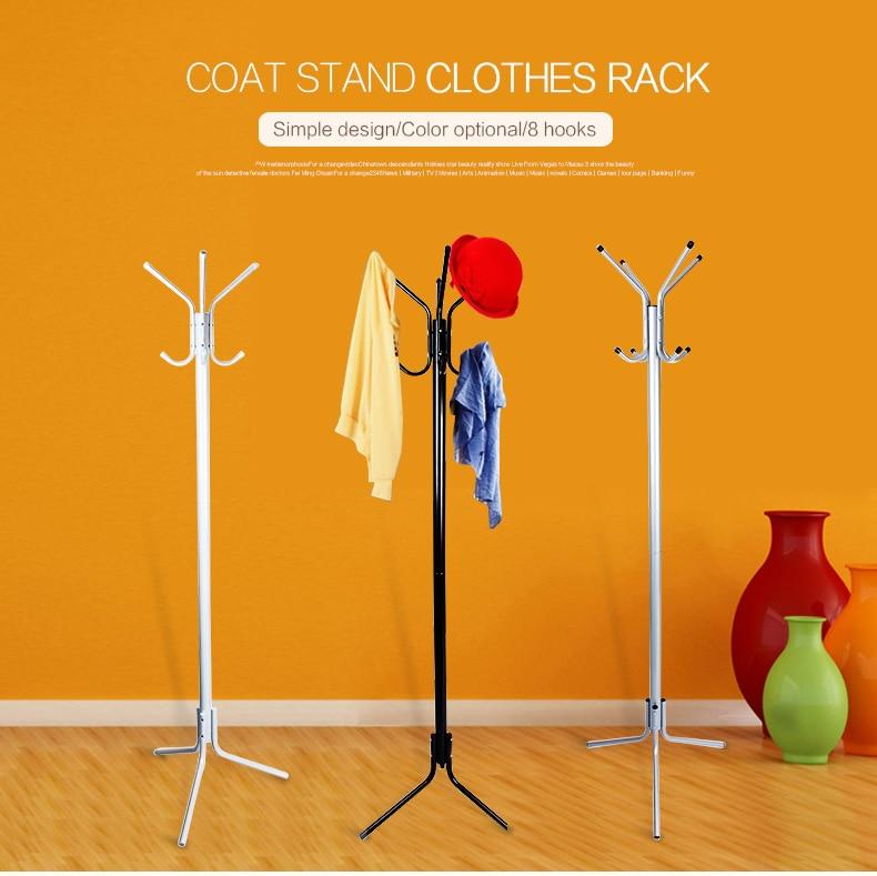 metal coat rack stand