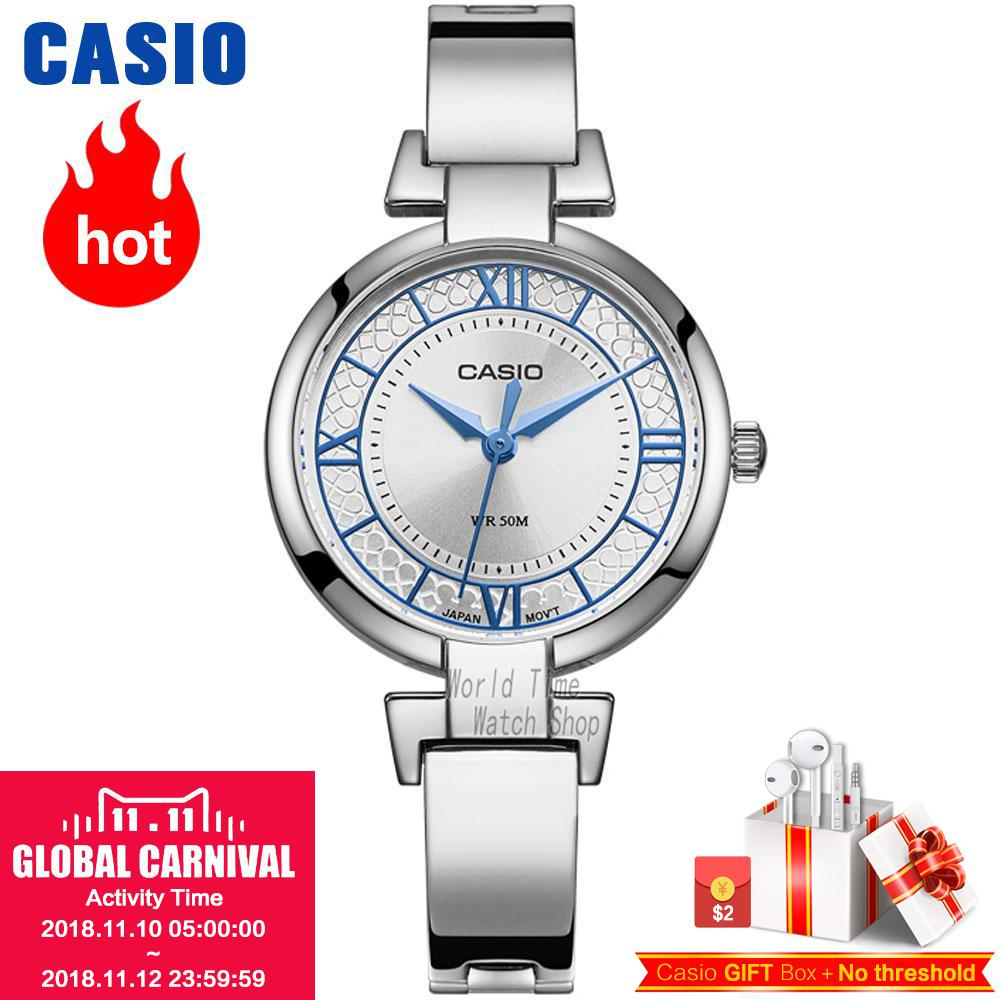 Casio watch Simple casual fashion business ladies watch LTP-E403D-2A LTP-E403PL-9A1 LTP-E403D-6A casio ltp e403d 4a