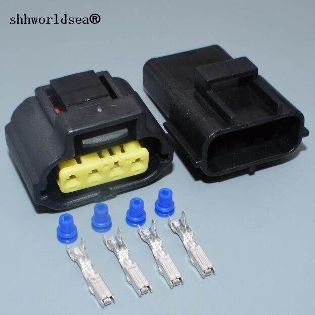 shhworldsea 1.8mm 4pin auto housing plug male female waterproof wire ...