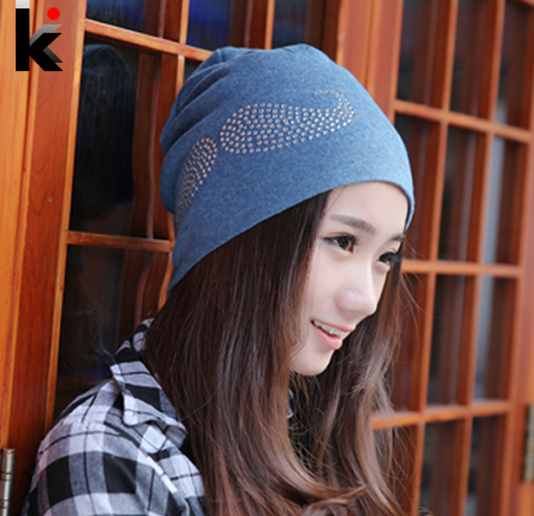 601e90c25df 2014 Fashion winter hats for women beanies diamond beard pattern cap hip-hop  Skullies gorro turban hat for women bonnet caps