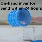 free shipping Revolutionary Space Saving Ice Cube Maker Genie ice genie
