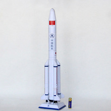 3D Paper Model Long March 5 Rocket Puzzle Student Manual DIY Origami Class Aerospace Science and Technology Toy