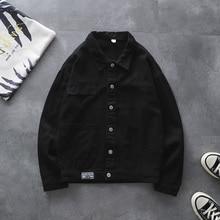 Man Fashion Solid Denim Jackets 5Colors Slim Men Casual Jeans Coat Male 2019 New Hip Hop Jacket Streetwear Outside Quality