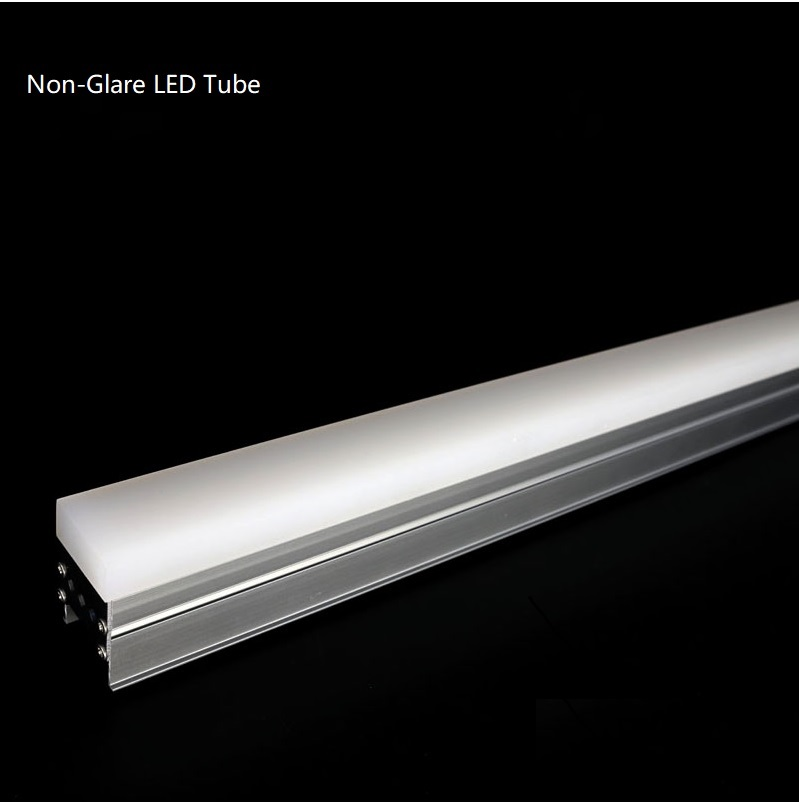DMX512 RGB LED Vision Tube / UltraThick Acrylic Diffuser /Linear Dynamic Lighting Effect Patterns for Bridges,Monuments,Facades