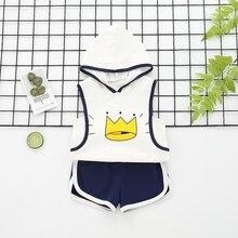 Qualitäts-Baby stellt Sommer neue dreifarbige wahlweise freigestellte Kronen-Weste ein, die bequem für das Anziehen mit Baumwollmaterial eingestellt wird