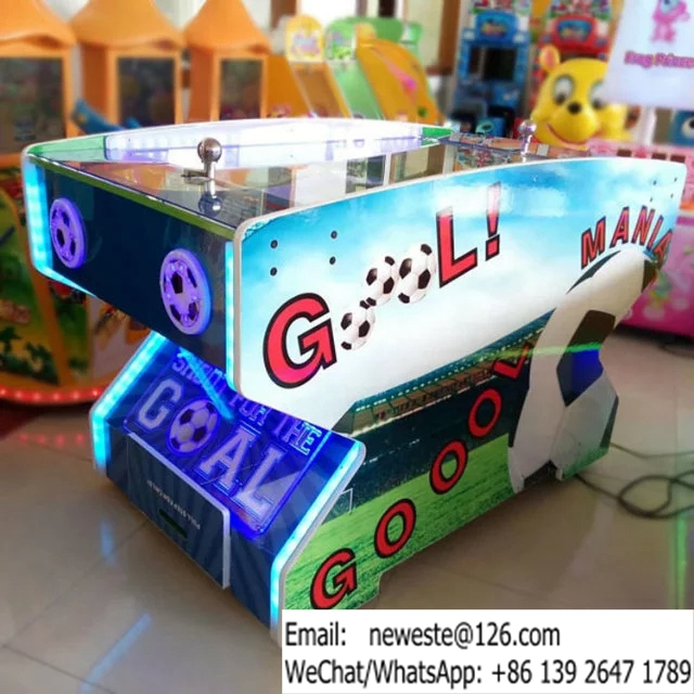 Goal Mania Arcade Amusement Soccer Football Redemption Tickets Game Machine