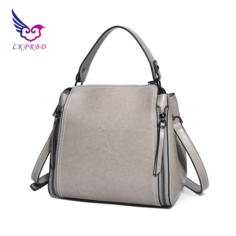100% leather bag Louis, Korean style, new high quality oil wax, leather, fashion, handbag, single shoulder shoulder bag. safebet brand 2018 new fashion cool style real leather handbag wholesale oil wax leather slanting shoulder bag women s handbag
