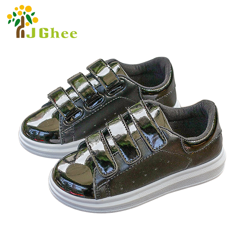 Spring Autumn Kids Shoes For Boys Girls Unisex Children Casual Sports Running Shoes Fashion PU Leather Classical 26-35
