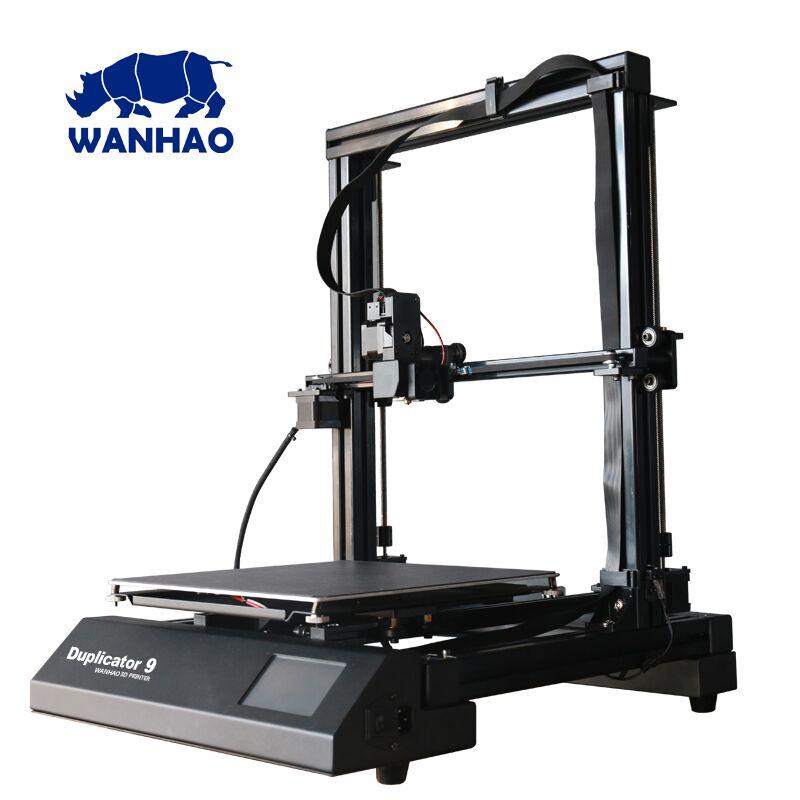 лучшая цена 2018 New 300*300*400mm Big Size D9 WANHAO factory desktop 3D printer Wanhao Duplicator 9 FDM / FFF large format 3D printer