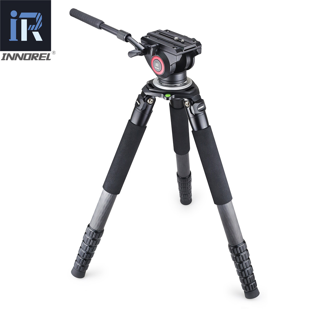 Image 3 - INNOREL Lightweight H80 Fluid Head Hydraulic Damping for DSLR Video Tripod Monopod Manfrotto 501PL Bird Watching Big Stable-in Tripod Heads from Consumer Electronics