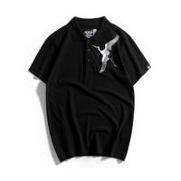 2018 Homme Polo Shirt Men Cotton Slim Fit 5xl Polos Steampunk Summer Shirt Men Japanese Hat Summer Billionaire Hipster 50P0021
