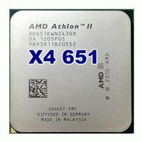 Amd Ii Athlon X4 651 Quad Core Scattered Pieces Cpu Fm1 3 0G 4M Cpu Quad