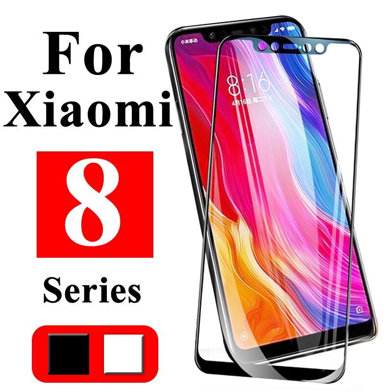 Vidrio protector para Xiaomi mi 8 lite vidrio templado tremp ksio mi 8 pro protector de pantalla XY mi 8 lite Glass 8pro xio mi 8se-in Protectores de pantalla de teléfono from Teléfonos celulares y telecomunicaciones on AliExpress