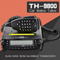 TYT TH-9800 Pro 50W 809CH Quad Band Dual Display Repeater Scrambler VHF UHF Transceiver Car Truck Ham Radio