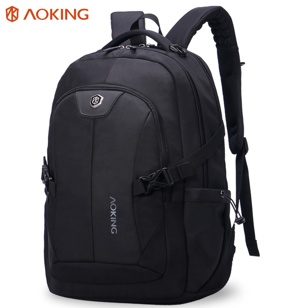 2017 Aoking New Classic Design Laptop Bag Backpack Men Large Capacity Nylon Compact Mens 14 inch Backpacks Unisex Women Bagpack ...