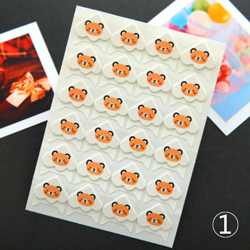 24 шт./партия Ретро ПВХ наклейки-уголки для фото художественные ремесла мультипликационные наклейки животных стиль Наклейка для украшения альбома - Цвет: 1
