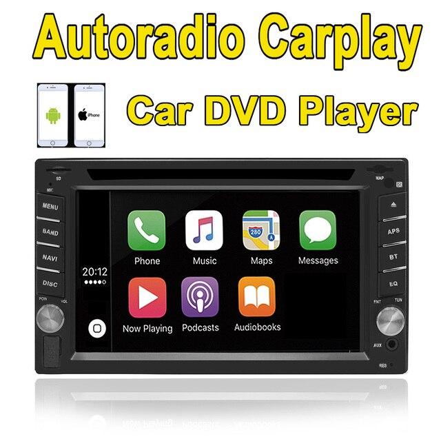 Rhythm 2 din universal Car DVD player autoradio carplay Bluetooth ...
