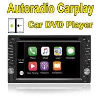 Rhythm 2 Din Universal Car DVD Player Autoradio Carplay Bluetooth Car Setero For Nissan Stereo Radio