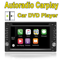 Rhythm 2 Din Universal Car DVD Player Autoradio Carplay Bluetooth Car Setero For Nissan Stereo Radio