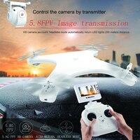 W606-5G 5.8G FPV RC Drone con la Macchina Fotografica HD 720 P RTF 2.4G 4CH 6 Axis Gyro RC Quadcopter Built-In Schermo LCD Radio controllo