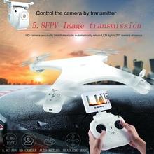 W606 5G 5 8G FPV RC Drone with HD Camera 720P RTF 2 4G 4CH 6Axis