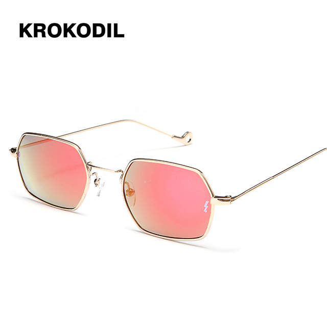d56c175e597e Women Sunglasses Small frame polygon Sunglasses Brand Designer Men vintage  Sun Glasses Hexagon Metal Frame 2-11 2-12