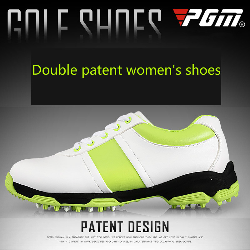 2018 PGM new womens  genuine leather golf shoes without spikes ultra soft super breathable waterproof golf shoes2018 PGM new womens  genuine leather golf shoes without spikes ultra soft super breathable waterproof golf shoes