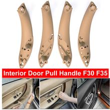 Beige Black Cream Front Rear Left / Right Car Interior Inner Door Pull Handle Cover For BMW F30 F80 F31 F32 F33 F35 2013-2018 vodool 4pcs set auto car interior inner door handle pull carrier covers 4 door front rear pull handle covers for bmw f01 f02