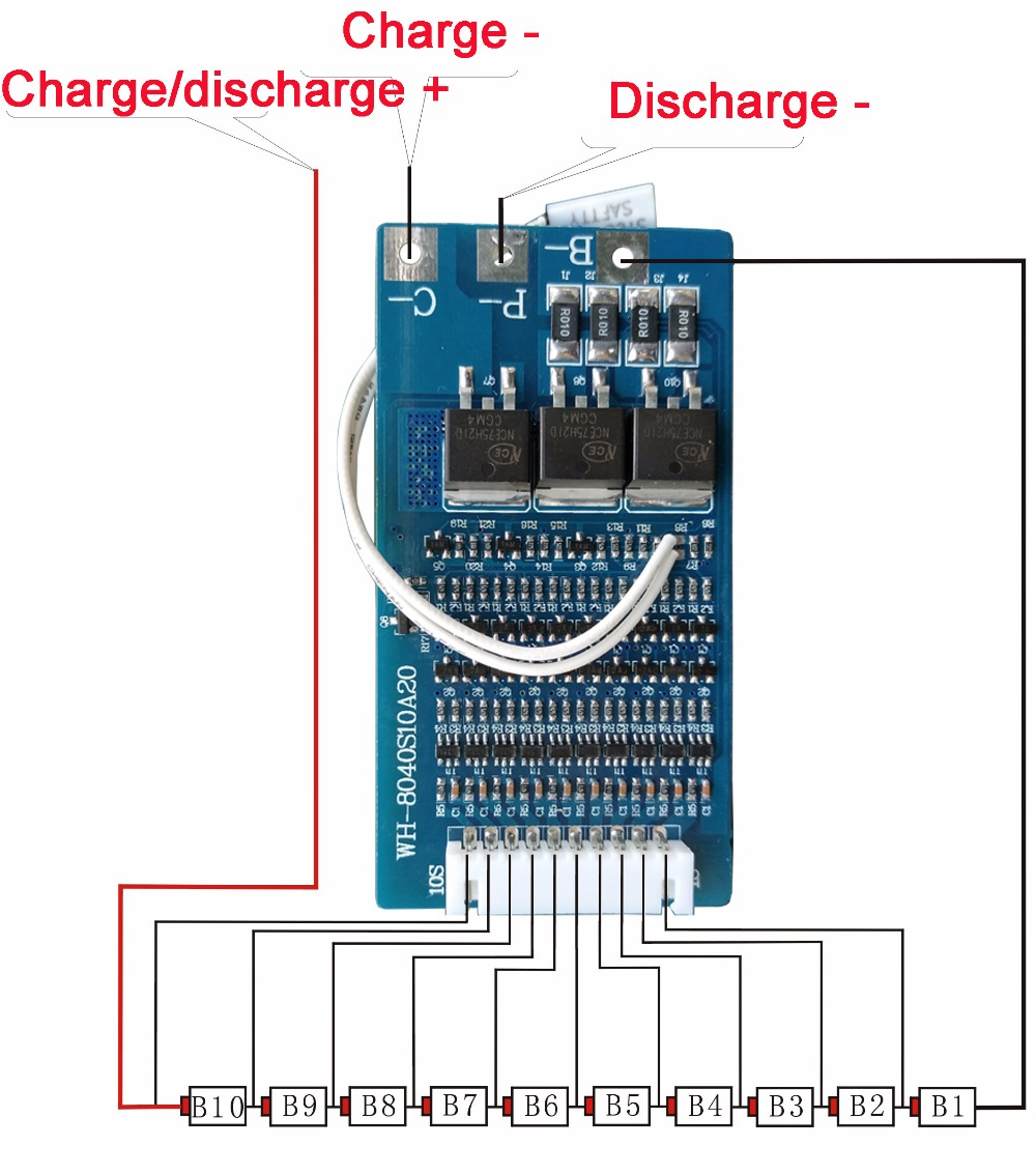 36v 10s Battery Wiring Diagram - Example Electrical Wiring Diagram •