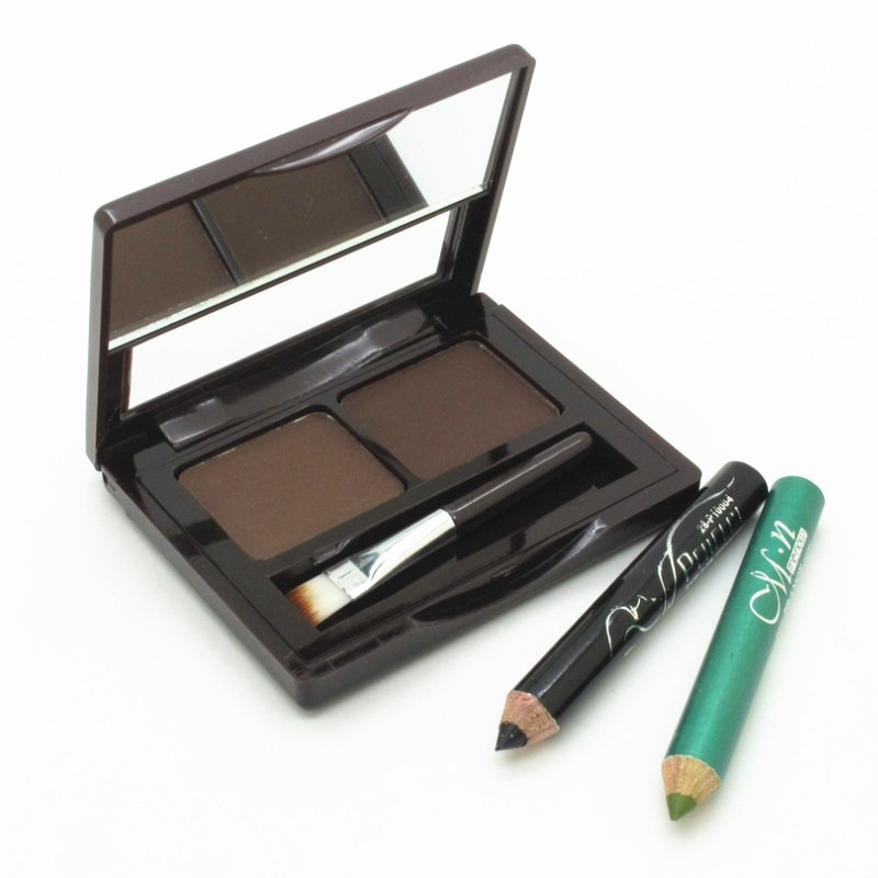 Eye Makeup Kit Set Cosmetics Professional 2 Colour Waterproof