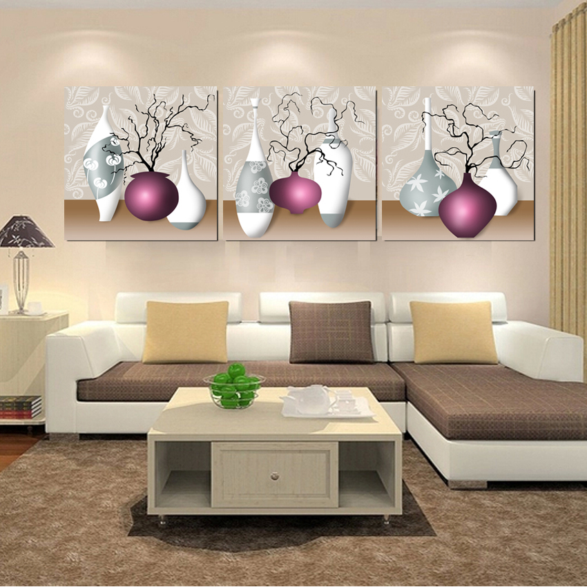 Painting Kitchen Living Room Connected: Canvas Prints Kitchen Pictures Modular Painting Art Work