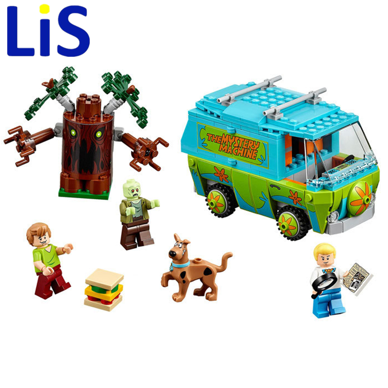 Lis Bela Scooby Doo Die Geheimnis Maschine Bus Baustein Spielzeug ...