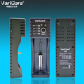 Nueva varicore u4 18650 18350 26650 10440 14500 16340 25500 nimh batería de litio de 1.2 v 3.7 v 3.2 v 3.85 v aa/aaa cargador de batería inteligente