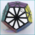 QJ Pyraminx Crystal QJ 12-color Chrysanthemum Dodecahedron Puzzle Magic Cube Challenging Educational Toys As a gift cube magico