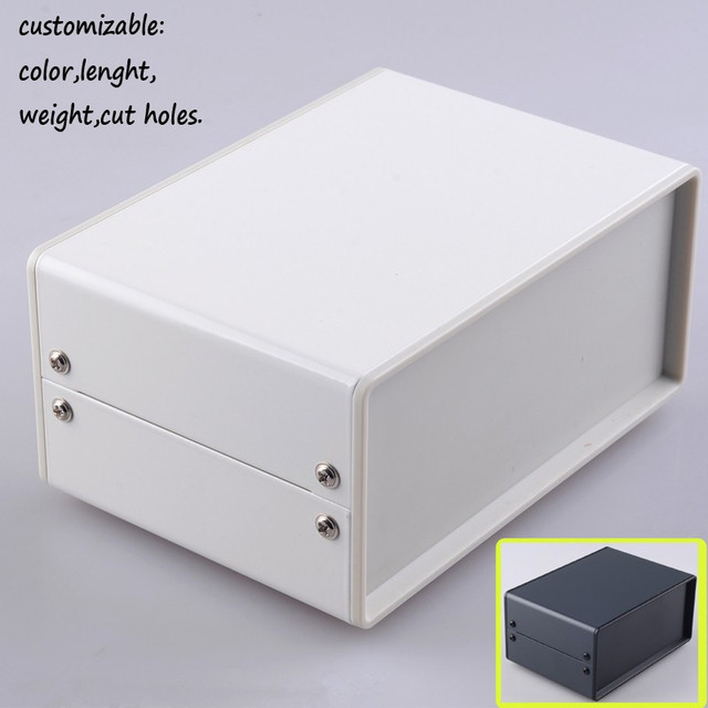 Free shipping 2 pcs/lot 150*100*70mm iron enclosure for junction box ...