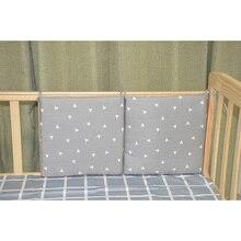 2 шт./лот, защита для детской кроватки, Комплект постельного белья для новорожденных, бампер для детской кроватки, мультяшное постельное белье для младенцев