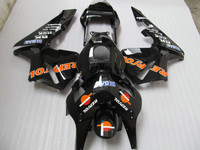 Injection mold ABS aftermarket fairing kit for Honda CBR600RR 2003 2004 glossy black REPSOL fairings CBR600 RR 03 04 CF30
