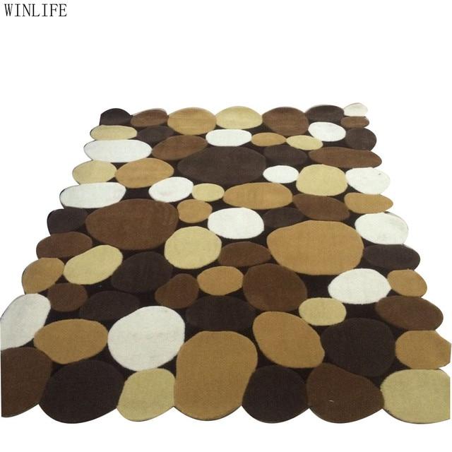 Einfache Stein Teppich Nach Maß Moderne Teppiche für Wohnzimmer ...