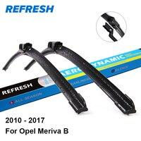 Car Wiper Blade For Opel Meriva 27 23 Rubber Bracketless Windscreen Wiper Blades Wiper Blades Car