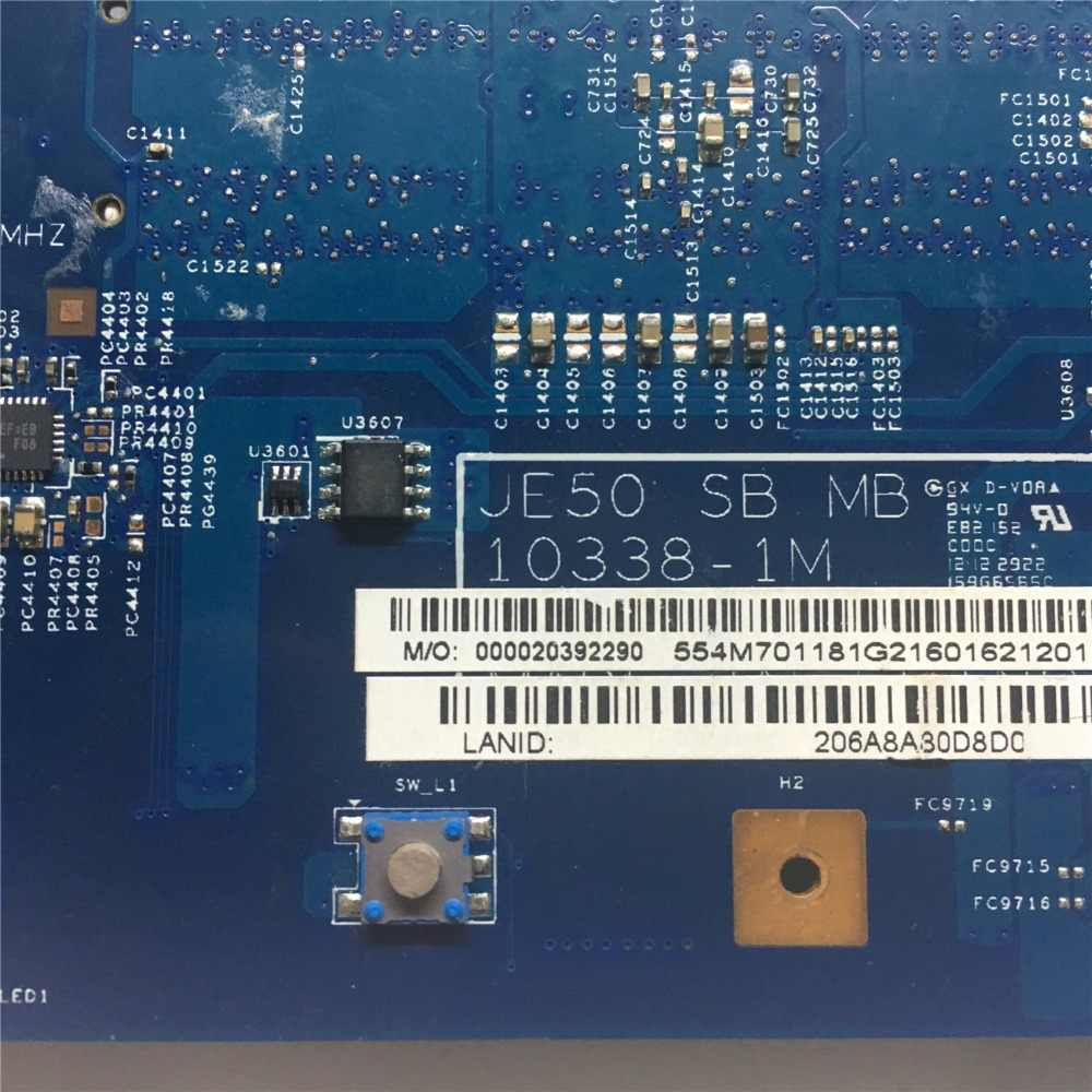 Placa base de calidad Mougol A + para la placa base del ordenador portátil Acer 5560 5560G HD6650M/1G JE50 SB MB 10338-1M 100% probado