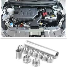 1/2-28 для Napa 4003, Wix 24003, автомобильный топливный фильтр 1X6 алюминиевый только для автомобиля, использованного серебром