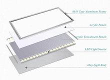 LED Panel Lights 36W  600x600mm Led Ceiling Panel Light 2x2ft Led Lamps AC85-265V Indoor LED Ceiling Panels + US STOCK