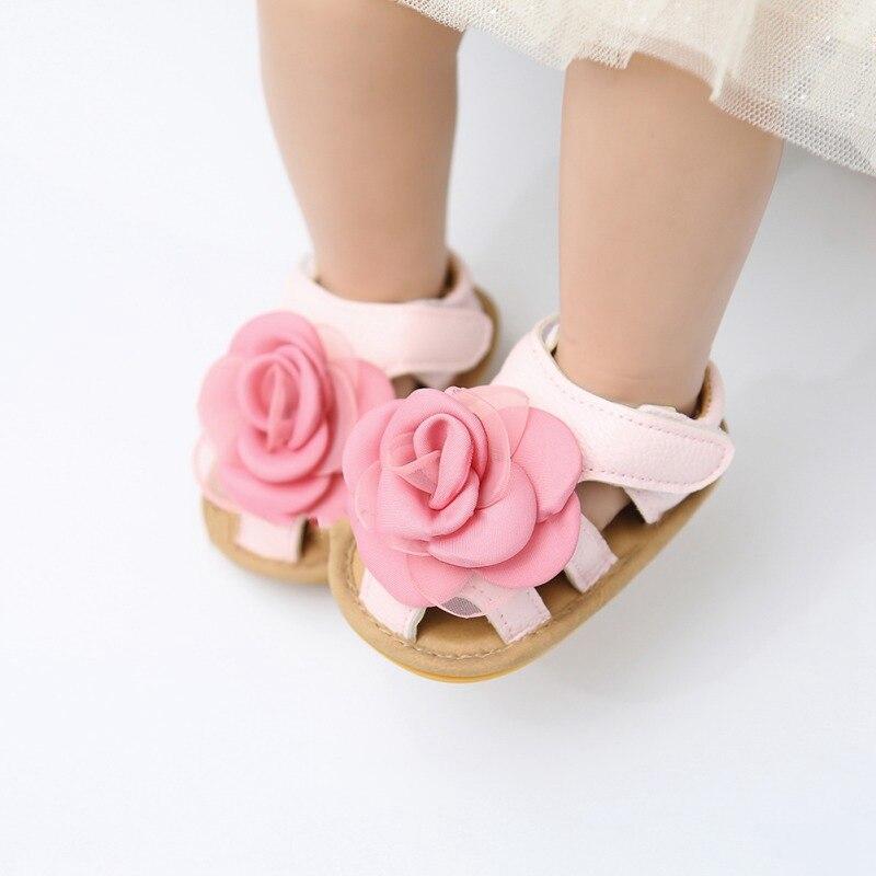 Newborn Baby Sandals Girl Princess Shoes Summer Breathable Casual Boy Sandals Infant Kids Toddler Soft Sole Non-slip Shoe  0-18M