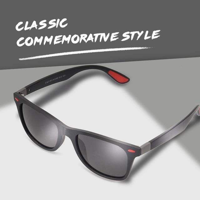 AOFLY BRAND DESIGN New 2018 Classic Polarized Sunglasses Men Driving TR90 Frame Sun Glasses Male Goggles UV400 Gafas AF8083 1
