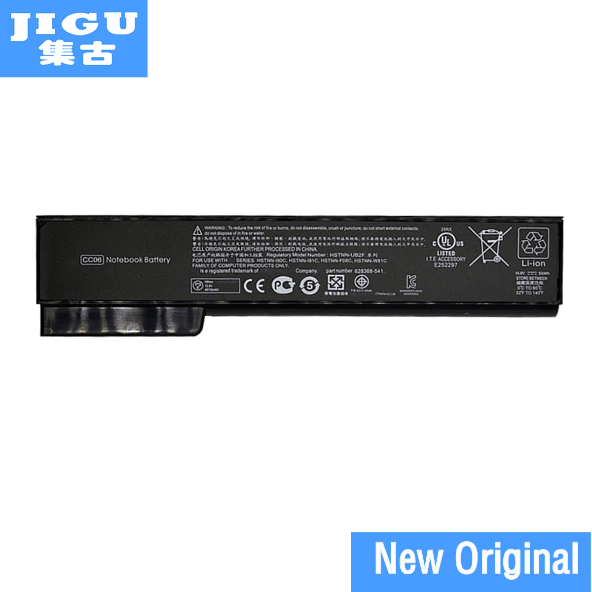 JIGU Original Laptop <font><b>Battery</b></font> For <font><b>HP</b></font> For ProBook 6465b 6470b 6475b 6560b 6570b For <font><b>EliteBook</b></font> 8460p 8460w 8470p 8470w 8560p <font><b>8570p</b></font> image