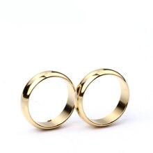 1 шт. Золотое кольцо PK, волшебные трюки, сильное магнитное кольцо PK, кольцо для монет, украшение для пальцев, магическое шоу, реквизит, Размер 18, 19, 20, 21 мм