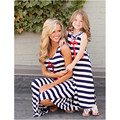 Mother Daughter Dress Family Matching Outfits Slim Mother and Daughter Clothes Baby & Mother & Kids Spring Summer Dresses