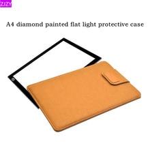 ZJZY 27×36 см алмазов картина Light Pad защитный чехол большой размеры фетр сумка для светового короба алмазная живопись 5D «сделай сам» инструмент интимные аксессуары