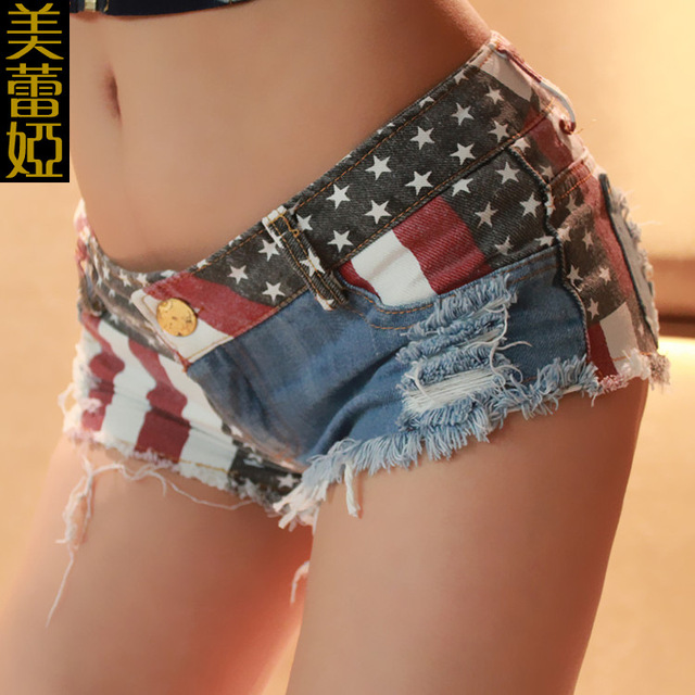 2016 mujeres del verano mujer ripped denim hotpants mujer sexy jeans shorts señora caliente ocasional femme micro mini shorts bottoms